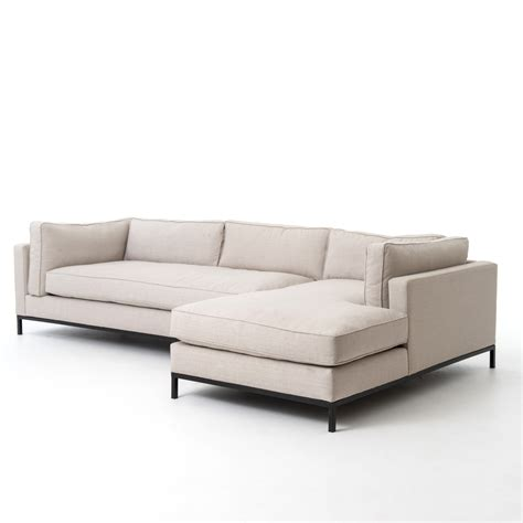 chaise palette right arm chaise sectional grammercy sectional