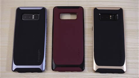 spigen neo hybrid and liquid air for galaxy note 8 youtube