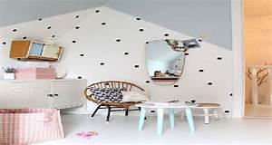Couleur Chambre Bébé Fille : couleur d co pour la peinture chambre fille deco cool ~ Dallasstarsshop.com Idées de Décoration