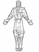 Mortal Kombat Coloring Pages Printable Sheets Bratz Scorpion Combat Boys Colouring Atv Artwork Adult Drawing Sketches sketch template