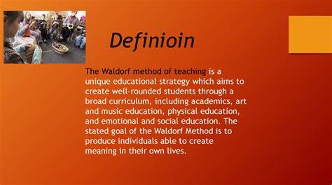 waldorf method  teaching