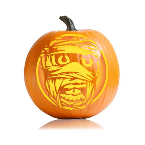 mummy pumpkin carving mummy pumpkin pattern mummy stencil