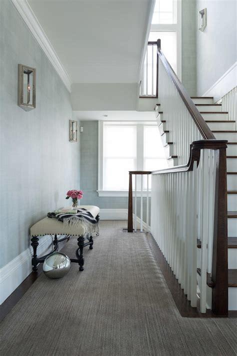 floor landing ideas transitional entrancefoyer