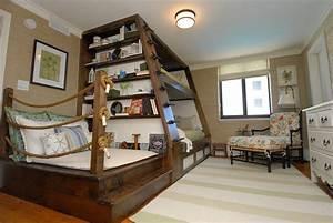 Ideas-Custom-Loft-Beds-for-Kids : Modern Queen Mattress