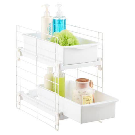 sink organizers bathroom cabinet storage