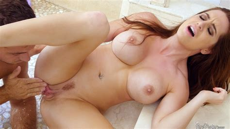 Hot Redhead Veronica Vain S Big Fake Tits Get Her Horny Pussy Fucked