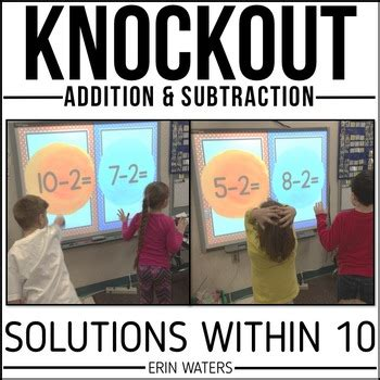 math fact knockout addition subtraction