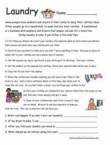 Basic Life Skills Worksheets