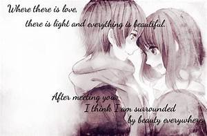 Anime Quotes About Love. QuotesGram