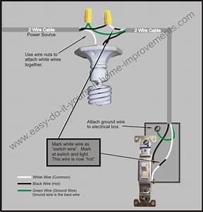 Home To Light Switch Schematic Wiring Diagram