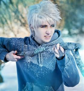 Real Life Jack Frost and Elsa