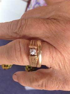 nanna39s long lost engagement ring turns up on a carrot With carrot wedding ring
