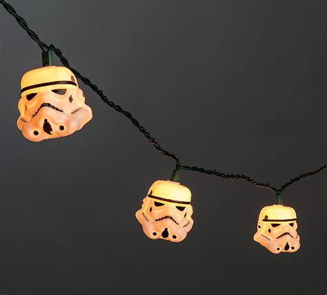 wars stormtrooper r2 d2 string lights