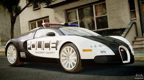 Bugatti Veyron 164 Police Nfs Hot Pursuit For Gta 4