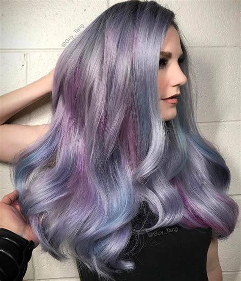 trendy geode hair color ideas