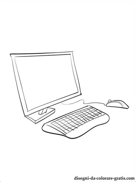 disegni da colorare con il computer disegno di computer da stare disegni da colorare gratis