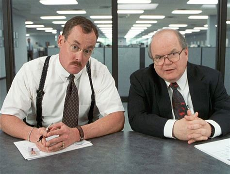 Office Space Bobs performance review remembering that you are valuable