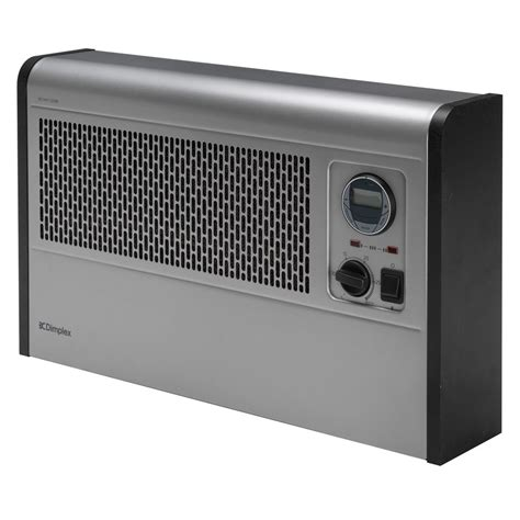 honeywell fan heater 3kw wall mounted convector heater with timer and thermostat