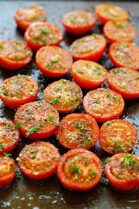 herb roasted tomatoes recipe  crafts  recipes