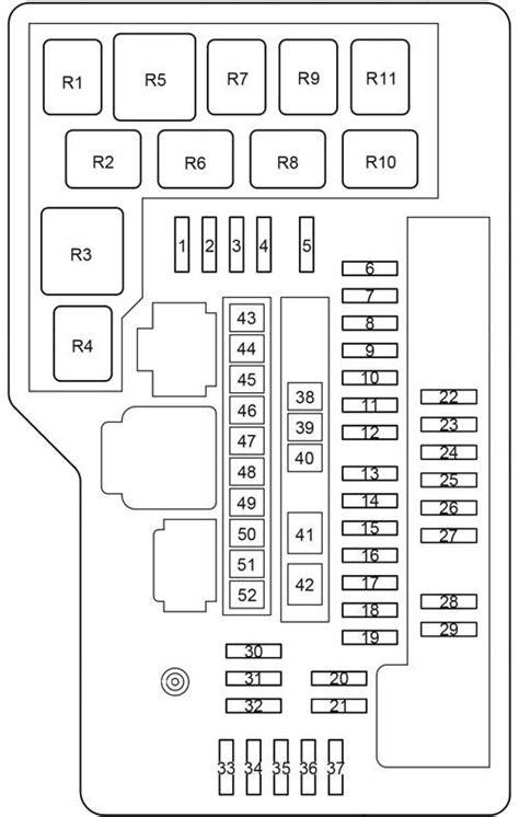 2009 Toyotum Matrix Fuse Diagram by 2009 Toyota Matrix Fuse Box Diagram Wiring Diagram For Free