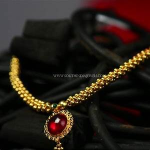 Gold Necklace Designs Below 10 Grams With Price | Necklace ...