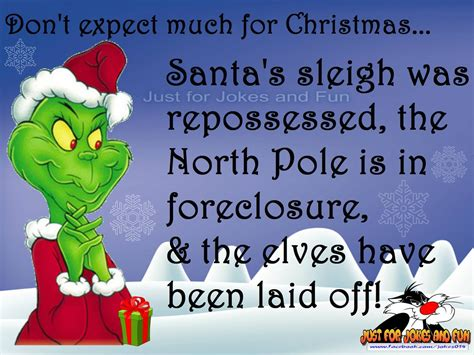 funny christmas quote   grinch pictures
