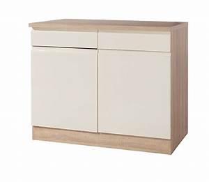 Küchen Unterschrank Schubladen : k chen unterschrank cardiff 2 t rig 100 cm breit ~ Michelbontemps.com Haus und Dekorationen