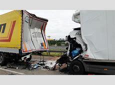 A6 Tödliche Unfälle durch Lkw bei MannheimSandhofen WELT