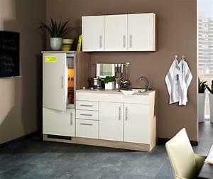 Singlekuche berlin mit kuhlschrank breite 180 cm for Singleküche mit kühlschrank