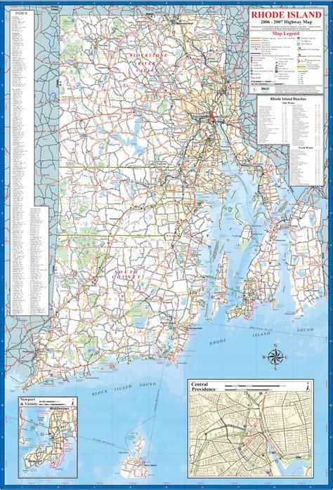 map  rhode island rhode island maps mapsofnet