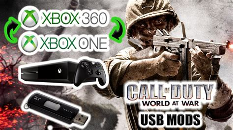 *2017* How To Mod Cod Waw Zombies Using Usb (xbox 360 And