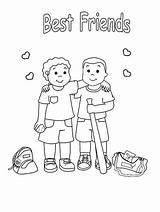 Coloring Friends Friendship Pages Printable Baseball Friend Children Teammates Colouring Preschool Printables Bestcoloringpagesforkids Teacher Activities sketch template