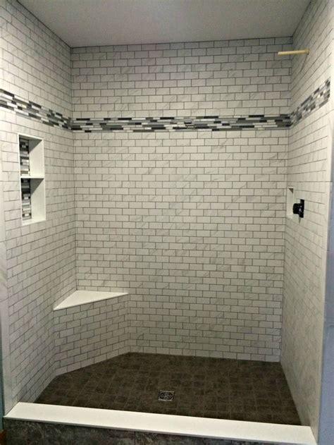 shower tile installed  hampton flooring center
