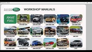 Land Rover   Range Rover Workshop Manuals  Service Manuals