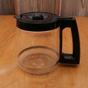 There is no way to get to it to. 12 Cup Black Glass Coffee Pot Carafe Replacement Part ...