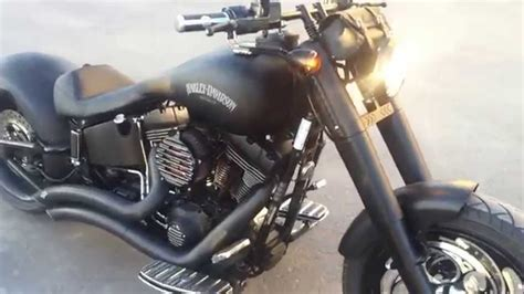 Modification Harley Davidson Boy by Harley Davidson Boy Fully Modified And Blacked Out