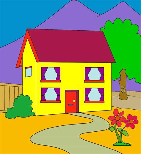 10 gambar mewarnai rumah