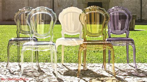 chaise plexi transparente chaises plexi pas cher