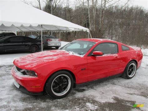 race red ford mustang gt coupe  gtcarlot