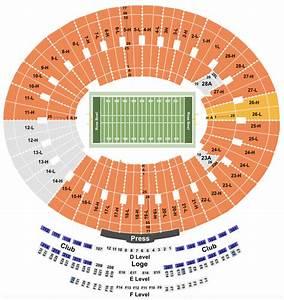 Rose Bowl Seating Guide