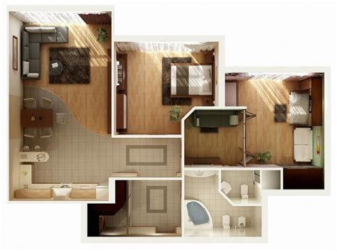 appartement 2 chambres idee plan3d appartement 2chambres 10