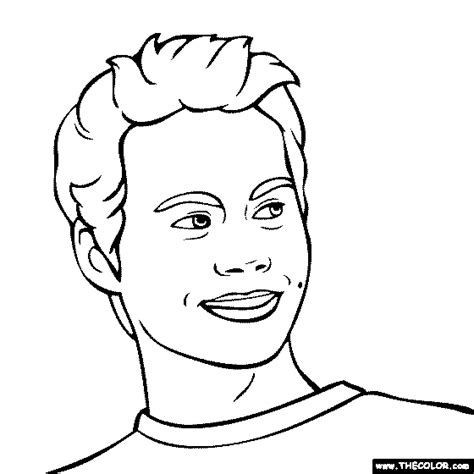 Ed Sheeran Kleurplaat by Free Coloring Pages Thecolor