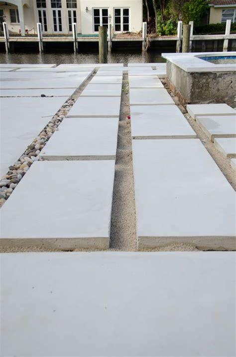 backyard concrete paver update backyards paths  diy