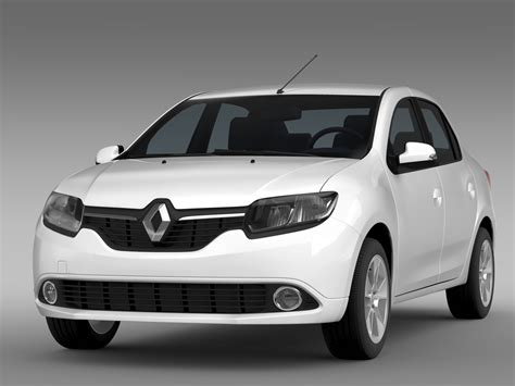 Renault Models by Renault Logan 2015 3d Model Flatpyramid