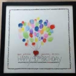 Happy Birthday Fingerprint Guest Book