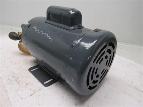 delta power hydraulic a4 w 1 2hp 1725rpm 115 208 230v electric motor ebay