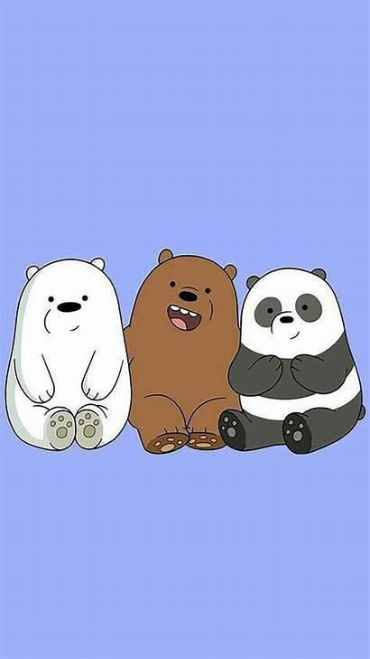 Bare Bears Cartoon Panda Wallpapers Bear Aesthetic