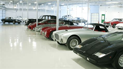 Garage Of Cars five of the top collector s car garages general steel