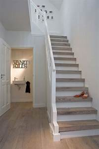 Treppenstufen Weiß Lackieren : die besten 25 treppenstufen ideen auf pinterest redo treppe teppich f r treppen und ~ Markanthonyermac.com Haus und Dekorationen