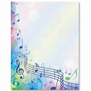Music Festival Border Papers | Stationary, Note and Music ...